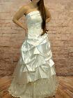 Vestido de Novia Corsé Falda Vestido Gr.34, 46,48 Crema
