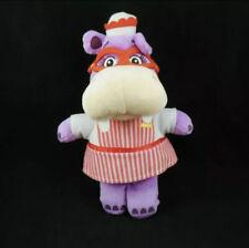 "NWT Disney Store Doc McStuffins Hallie the Hippo Plush 8"" Mini Bean Bag Doll"