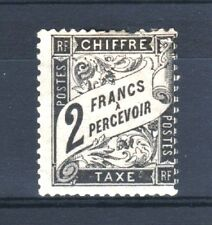 """FRANCE STAMP TIMBRE TAXE YVERT N° 23 """" TYPE DUVAL 2F NOIR """" NEUF x A VOIR T354"""