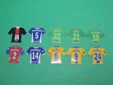 Magnet équipe diverse Just Foot Pitch 2009 maillot football lot #49
