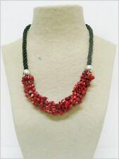 Jaspe Rojo collar de minerales, Red Jasper necklace 115