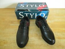 Stylo MG 406 Madrid Black Golf Shoes Size UK 7 Unworn but Please Read Descript.