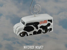 Got Milk? DeliveryvTruck Cow Pattern Custom Christmas Ornament 1/64 Adorno