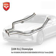 [JUNB.L] Downpipe for HYUNDAI 2018 2019 2020 GENESIS G70 3.3L Turbo [2WD]