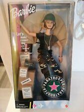Barbie paratroopers, paracadutista, anno 2000 nrfb