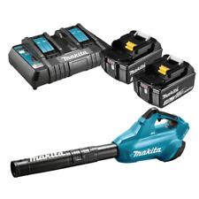 Makita Blower Leaves Battery Powered 36V 2BATTERIE 3.0 Mod. DUB362Z Warranty It