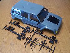 Axial SCX10 II 2000 Jeep Cherokee Grey Black Body Gray ll &Parts Tree AX90047