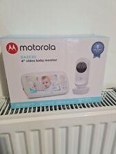 "MOTOROLA EASE30 4"" VIDEO BABY MONITOR BRAND NEW"