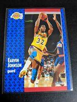1991-92 Fleer Magic Johnson Los Angeles Lakers HOF