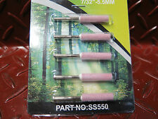 5 x 7/32  Quality sharpening stones for 12v chainsaw sharpener