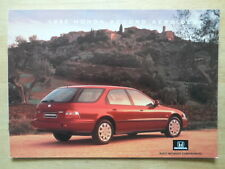 HONDA ACCORD AERODECK orig 1995 UK Mkt Glossy Sales Brochure