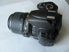 Nikon D5000 12.3 MP Digital SLR Camera - Black (Kit w/ AF-S DX VR 18-55mm Lens)