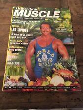 Magazine Le Monde Du Muscle N 79 Juin 1989 Bodybuilding