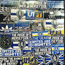 100 x Everton Stickers inspired by Toffees Shirt Scarf Badge Flag 1878 Poster