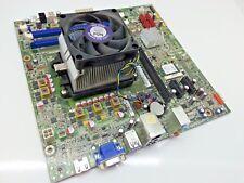 Lenovo H50-55 W8S PC Motherboard 90006403 11202739 Heatsink + Fan + WIFI Card 17