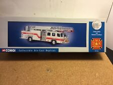 FIRE TRUCK by CORGI. new 1:50 RARE #54904 LIMITED EDITION W/no.certificate