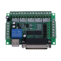 USB Interface 5 Axis CNC Breakout Board For Stepper Driver Controller mach3 9H