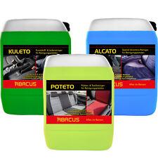 Tornador Reiniger-SET Alcantara Textil Polster Kunststoff Leder 3x 5 Liter