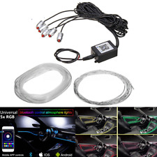 RGB Multi-color LED Ambient Light 6M Car Inner Neon Strip Bluetooth App Control