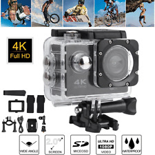 Ultra 4K HD 1080P WiFi Action Sports Video Camera Camcorder Waterproof Case