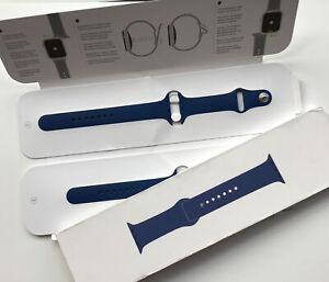 Genuine Apple Watch Sport Band Strap 44mm (42mm) BLUE HORIZON