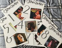 *RARE* Joe Cocker LP Vinyl Collection - 8 x LP Collection (Mega Records)