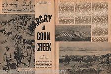 Coon Creek Warcry At Fort Leavenworth + Genealogy
