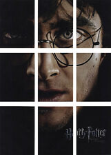HARRY POTTER DEATHLY HALLOWS PART 2 BASE PUZZLE 9 CARD CHASE SET BP1 THRU BP9