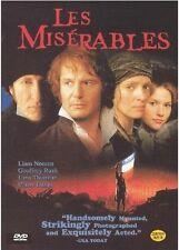 Les Miserables (1998) DVD (Sealed) - Liam Neeson
