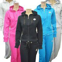 Women Ladies Star Hoddie Track Suit Top Jog Jogging Bottoms Trousers S M L XL
