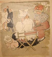 Le Culte, Steinlen Original Antique 1897 from Gil Blas