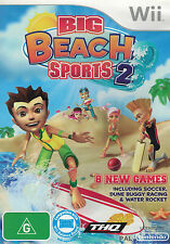 Big Beach Sports 2, Nintendo Wii game complete, Used