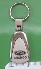 BRONCO  keychain  KEY CHAIN - teardrop shape ORIGINAL BOX