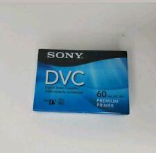 Sony Mini DVC Digital Video Cassette DVC 60min Premium Tape new