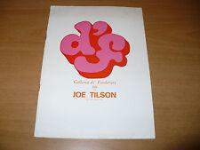 JOE TILSON CATALOGO MOSTRA 1968 GALLERIA DE' FOSCHERARI 66 BOLOGNA C. FINCH