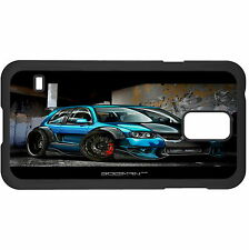 Blue Car Hard Case Cover For Samsung New