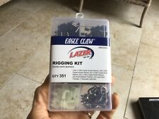 new 351pc Eagle Claw Leader Sleeves Rigging Kit #Krig350 fishing line sleeves +