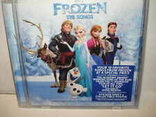Disney Frozen The Songs - The Original Song  Audio CD New -  Sealed