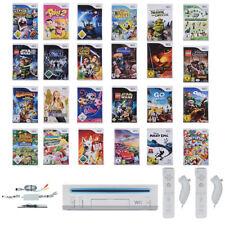 Details zu  Nintendo Wii Konsole ► Remote & Nunchuck Neu ►10x Kinder Spiele