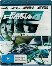 The Fast & and Furious 4 - Blu Ray New/ Region B