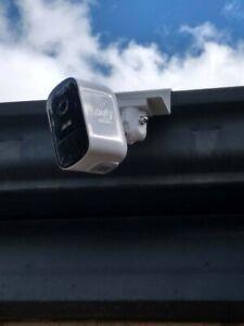 HOLACA Weatherproof Gutter Mount for EufyCam 1&2/ 2C/ 2C Pro/ E Camera