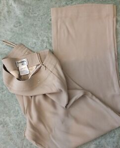 Chanel Pure Silk Trousers Size EUR 42 UK 14
