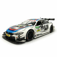 1:24 Scale BMW M4 DTM Racing Car Model Diecast Vehicle Toy Collection Gift White