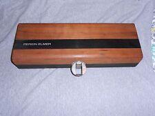New listing Vintage Perkin-Elmer Wooden Storage Case
