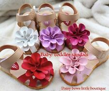 Girls' Faux Leather Baby Sandals