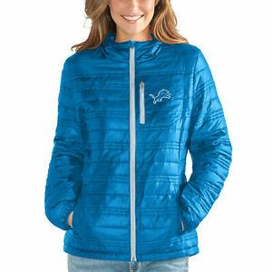 G-III 4her Detroit Lions Women's Formation Full Zip Jacket - Blue
