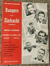 More details for glasgow rangers v eintracht frankfurt pre-season friendly 1967