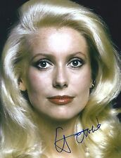 Catherine Deneuve signed 8x10 photo - Exact Proof - Belle De Jour
