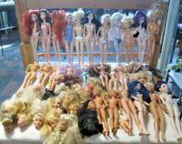 Barbie Doll Lot Parts/Repair Restore OOAK Barbie & Friends, Bratz, Winx & Disney