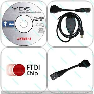 Diagnostic cable adapter for Yamaha YDS Marine Outboard WaveRunner Jet Boat